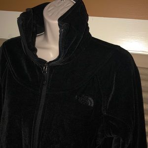 The north face women's velour zip up jacket